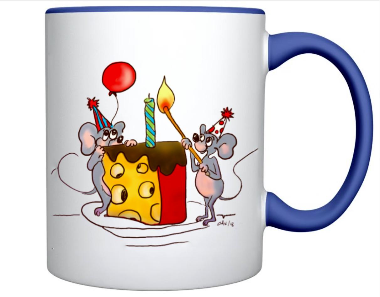Birthday_Mice_lighting_Cake_Candles_White_Blue_MUG_Sample