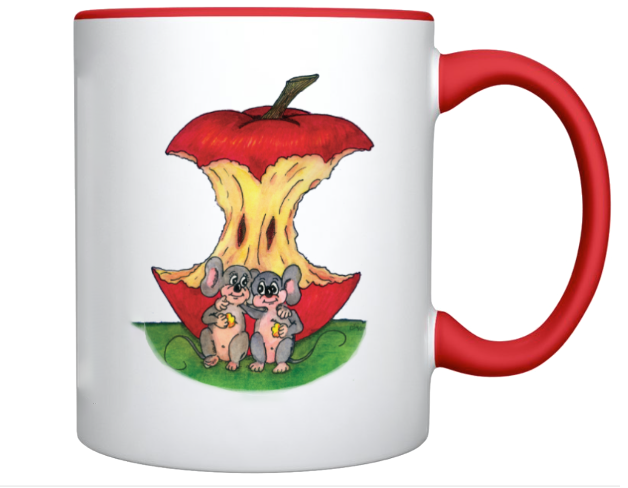 Mouse_Apple_White_Red_Coffee_Cup_Sample_J-INK