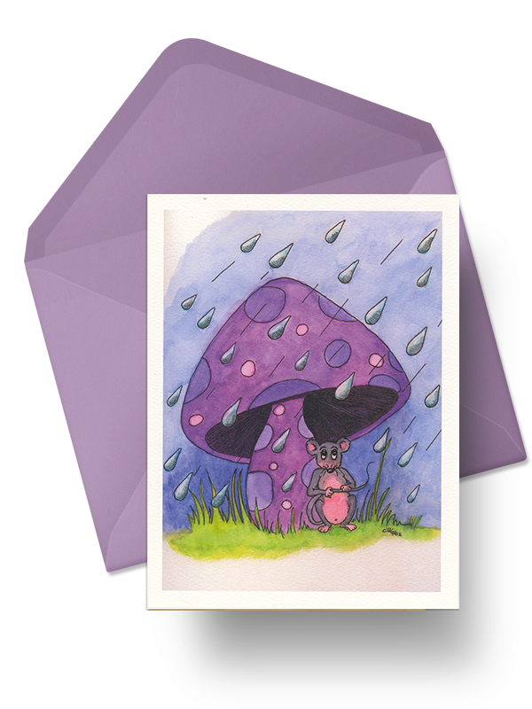 Mushroom_card_with_Envelope
